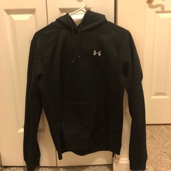 Women s Black Under Armor Small Logo Hoodie. M 5ab98e9285e6054baee48191 12be1c009cfd
